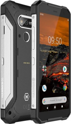 Odolný telefon myPhone Hammer Explorer 3GB/32GB, stříbrná ROZBALE