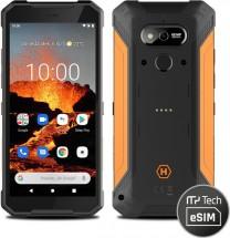 Odolný telefon myPhone Hammer Explorer Pro 6GB/128GB, oranžová