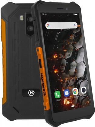 Odolný telefon myPhone Hammer Iron 3 LTE 3GB/32GB, oranžová
