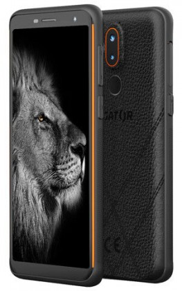 Odolný telefon Odolný mobilní telefon Aligator RX800 eXtremo 4GB/64GB, oranžová