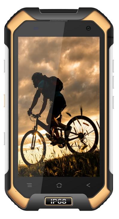 Odolný telefon Odolný telefon iGET Blackview BV6000s 2GB/16GB, žlutá
