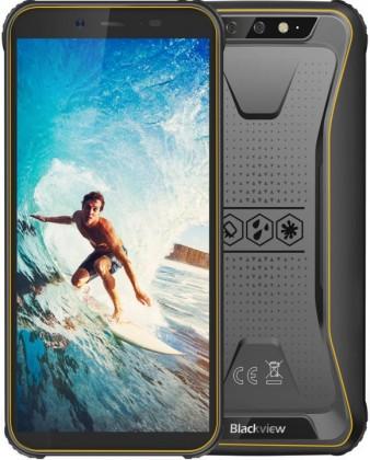 Odolný telefon Odolný telefon iGET Blackview GBV5500 2GB/16GB, žlutá