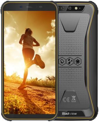 Odolný telefon Odolný telefon iGET Blackview GBV5500 Pro 3GB/16GB, žlutá