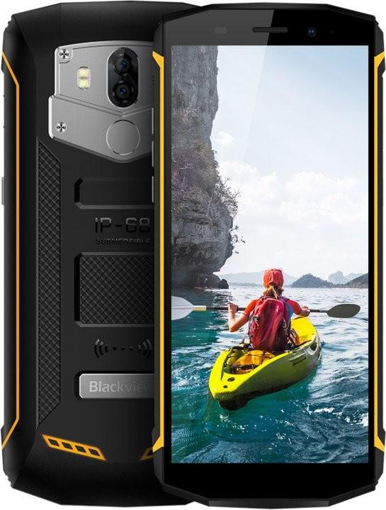 Odolný telefon Odolný telefon iGET Blackview GBV5800 2GB/16GB, černá