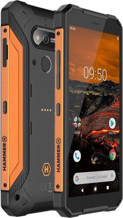Odolný telefon Odolný telefon myPhone Hammer Explorer 3GB/32GB, oranžová
