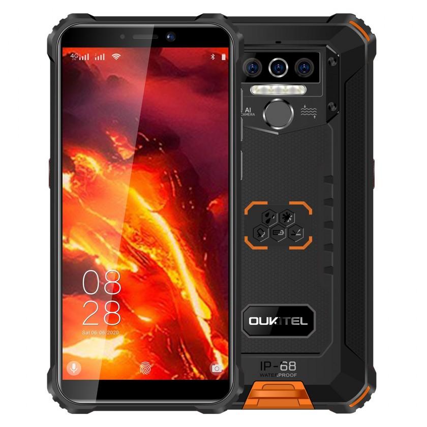 Odolný telefon Odolný telefon Oukitel WP5 Pro 4GB/64GB, oranžová