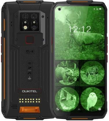 Odolný telefon Oukitel WP7 8GB/128GB, oranžová