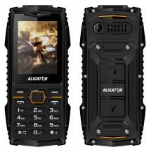 Odolný tlačítkový telefon Aligator R15 eXtremo, IP68, černá ROZB