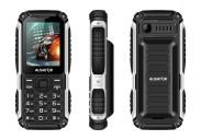 Odolný tlačítkový telefon Aligator R30 eXtremo, IP68, černá