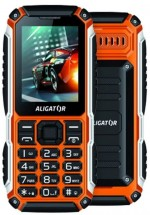 Odolný tlačítkový telefon Aligator R30 eXtremo, IP68, oranžová