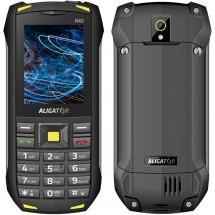 Odolný tlačítkový telefon Aligator R40 eXtremo, černo-žlutá