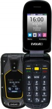 Odolný tlačítkový telefon Evolveo StrongPhone F5, véčko, černá