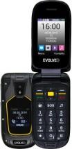 Odolný tlačítkový telefon Evolveo StrongPhone F5, véčko, černá RO