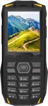 Odolný tlačítkový telefon iGET Blackview GBV1000, žlutá