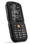 Odolný tlačítkový telefon myPhone Hammer 2, černá