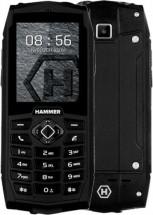 Odolný tlačítkový telefon myPhone Hammer 3, černá