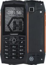 Odolný tlačítkový telefon myPhone Hammer 3 PLUS, oranžová