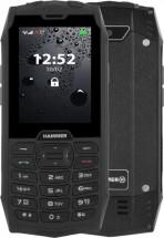 Odolný tlačítkový telefon myPhone Hammer 4, černá