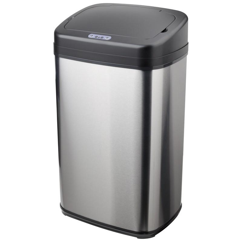 Odpadkové koše automatický bezdotykový odpadkový koš DuFurt OK30X, 30l