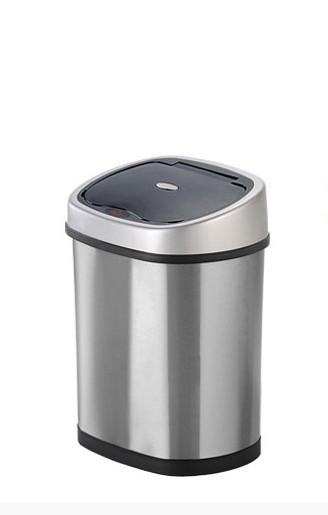 Odpadkové koše Bezdotykový odpadkový koš Helpmation GYT121, 12L POUŽITÉ, NEOPOTŘ