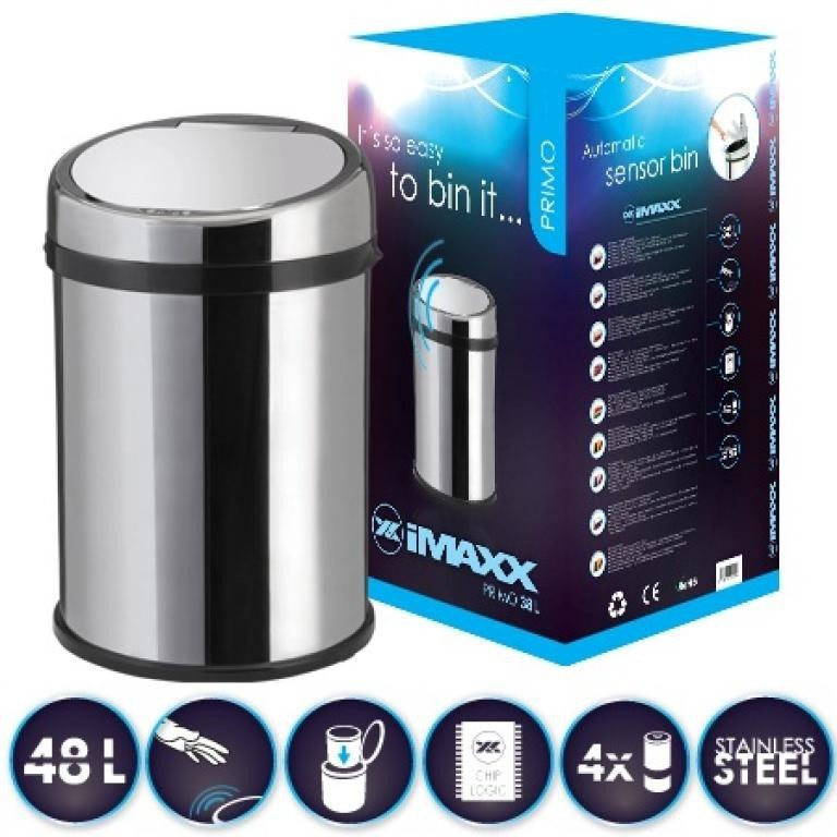 Odpadkové koše HiMAXX Senzorový odpadkový koš Primo 48L