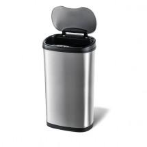 Odpadkový Kôš se senzorem na tříděný odpad Toro, nerez, 50l