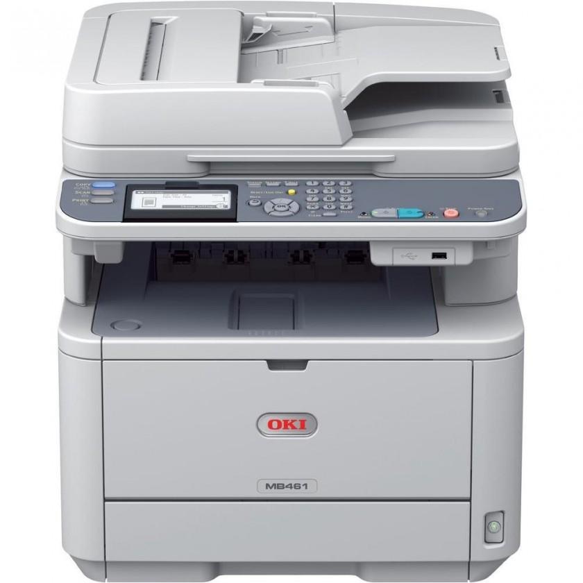 Oki MB461dn A4, 33 ppm 2400x600 dpi, USB, LAN (Print/Scan/Copy)