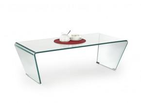 Olimpia - Konferenční stolek skleněný ohýbaný (transparentní)