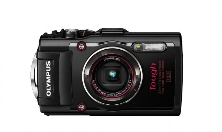 Olympus TG-4 - 16 MP, 4x zoom iS - Black