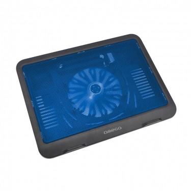 OMEGA WIND Chladící podložka, 14cm ventilátor, modrá