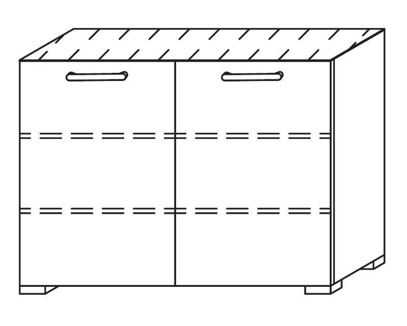 Onella - Komoda, 2x dveře