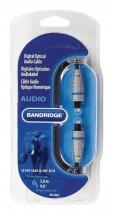 Optický audio kabel Bandridge BAL5603, 3m