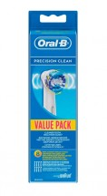 Oral-B Náhradní kartáčky Precision Clean EB 20-8, 8ks