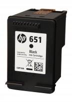 Originální cartridge HP C2P10AE č. 651 Černá
