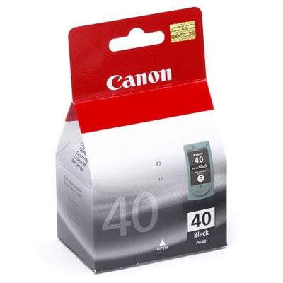 Originální černá cartridge Canon black PG-40 0615B001
