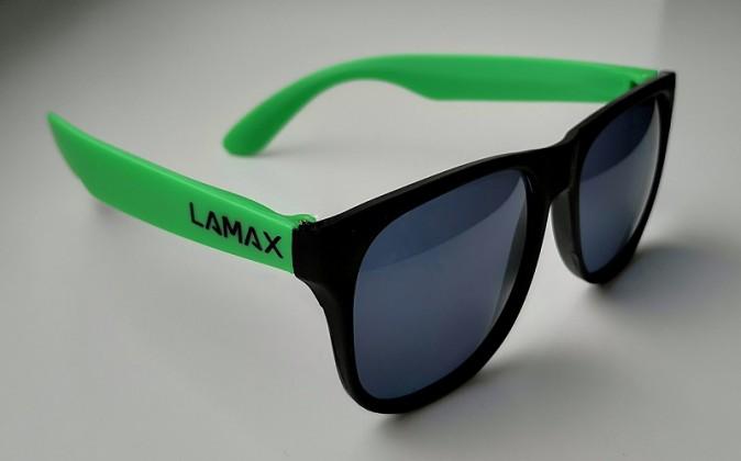 Originální sluneční brýle od značky LAMAX.