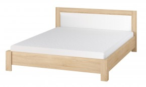 Oslo - Ložnicová postel 160x200 cm (dub sonoma/bílá)