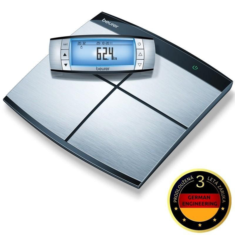 Osobní péče ZLEVNĚNO Beurer BF 100 Diagnostická váha celého těla VADA VZHLEDU, ODĚRKY