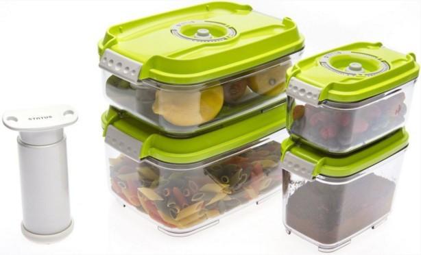 Ostatní kuchyňské potřeby Status 157531, 5 dílný set (zelená)