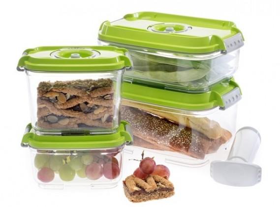 Ostatní kuchyňské potřeby Vakubox Status 157531, 5 dílný set, zelený