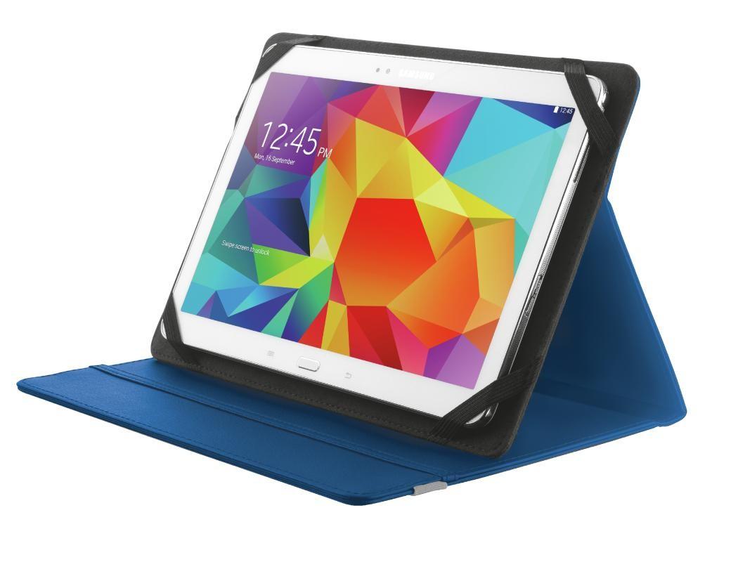 """OSTATNÍ Pouzdro s podstavcem Trust Primo Folio Case pro tablet 10"""",modrá"""