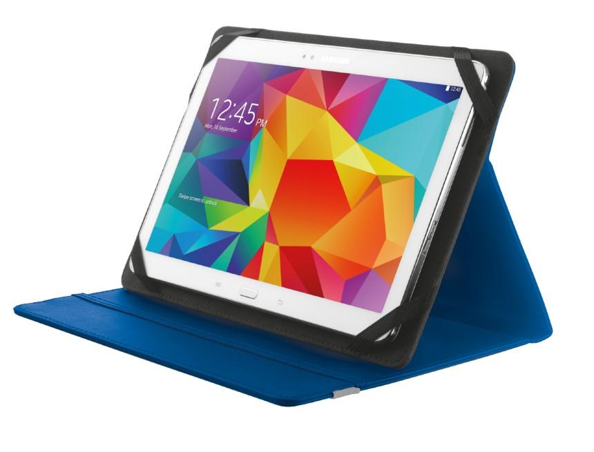 """OSTATNÍ Pouzdro s podstavcem Trust Primo Folio Case pro tablet 10"""",modré"""