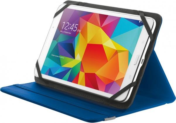 """OSTATNÍ Pouzdro s podstavcem Trust Primo Folio Case, tablet 7-8"""", modrá"""