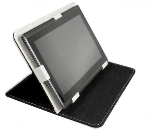 """OSTATNÍ Pouzdro Tablet Book 7"""" white (195x120mm), se stojánkem"""
