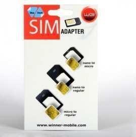 Ostatní příslušenství Adaptér SIM 3v1