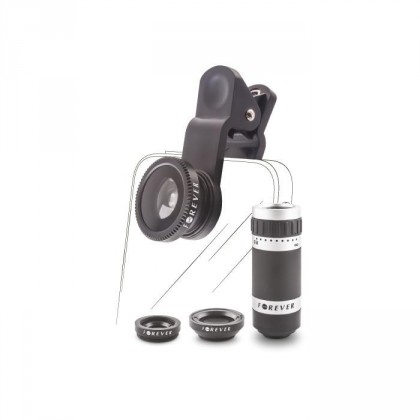 Ostatní příslušenství HAPPY-LENSES - SL-400 OBJEKTIVY PRO MOBILNÍ TELEFON - 4V1