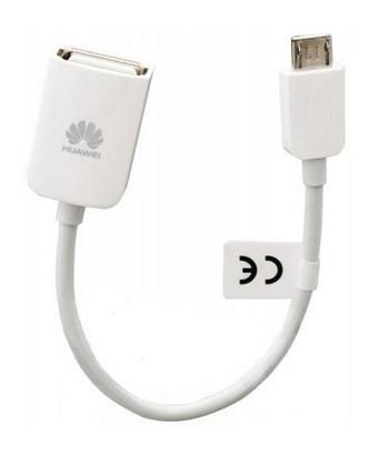 Ostatní příslušenství HUAWEI OTG kabel pro externí USB paměť, White