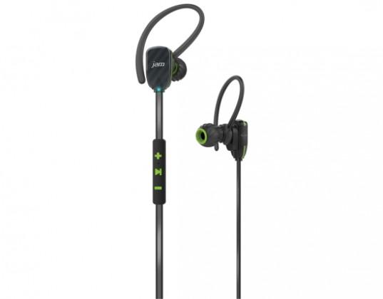 Ostatní příslušenství Jam Audio Transit Micro Sports Buds Green HX-EP510GR