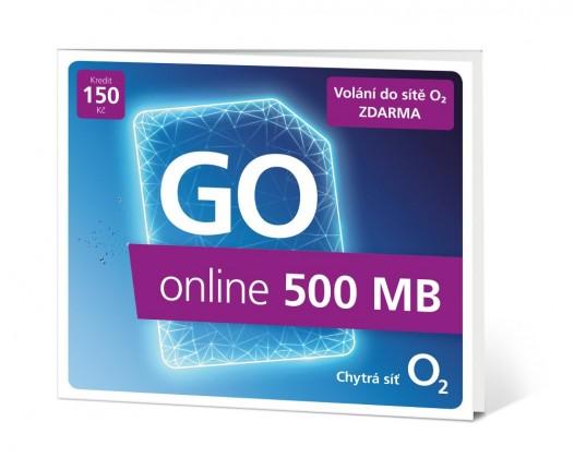 Ostatní příslušenství Předplacená karta O2 GO online