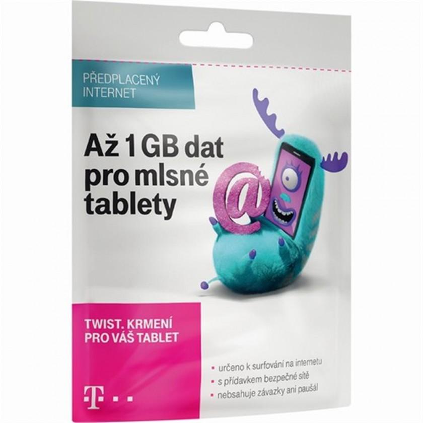 Ostatní příslušenství T-Mobile SIM Twist Online 1GB Okay